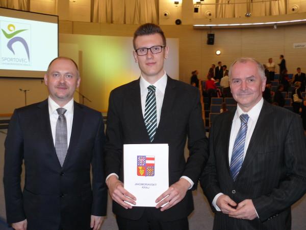 Michal Hašek, Jakub Starnovský a Stanislav Juránek. Autor: David Starnovský