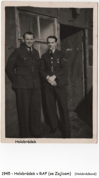 Holobrádek v RAF
